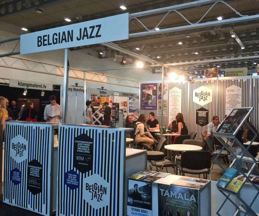 Belgische delegatie op Jazzahead 2019