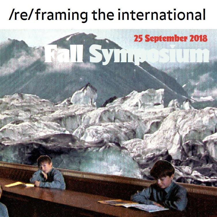 Symposium (Re)framing the International: internationaal werken in de kunsten, nu en straks